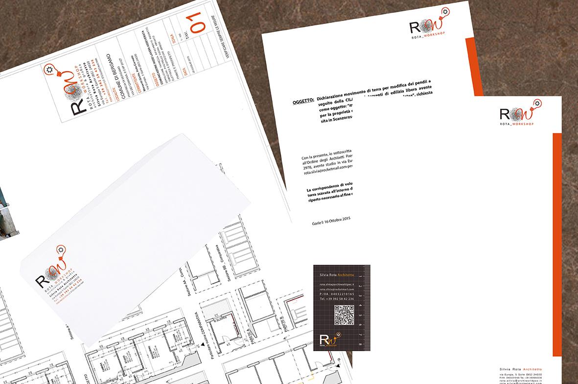 Grafica aziendale ROTA workshop (2015)